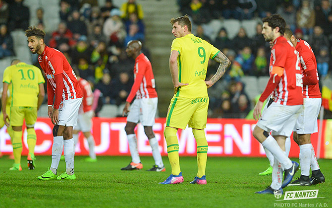 Nantes chute encore face à Nancy